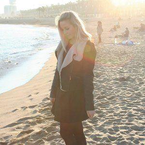Zara Trafaluc   Faux Fur Moto shearling jacket